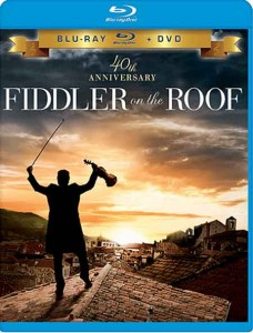 Fiddler on the Roof (1971) 40th Anniversary Blu-ray cover