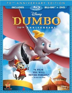 Dumbo (1941) 70th Anniversary Edition Box Cover Image