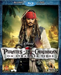 Pirates Of The Caribbean: On Stranger Tides (2011) Blu-ray cover