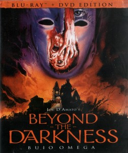 Blu Ray cover for Beyond The Darkness