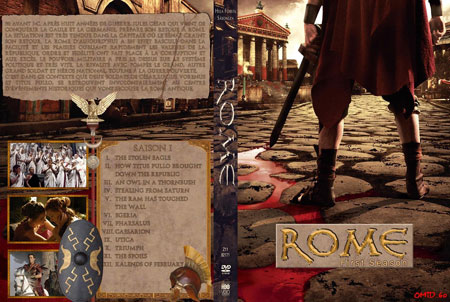 Rome: The Complete First Season (2005) Box Coer