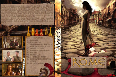 Rome: The Complete Second Season (2007) Box Cover